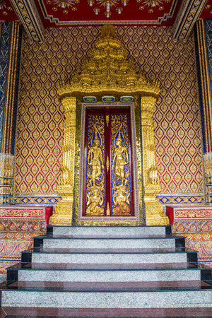 Architecture buddhist artwork spectacular temple  in thailand