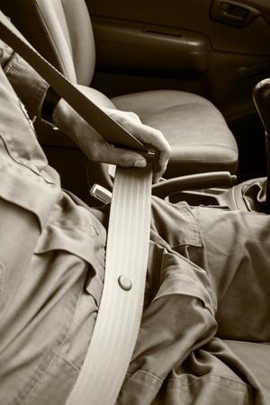 motorist: Motorist should expect belts for safe driving.