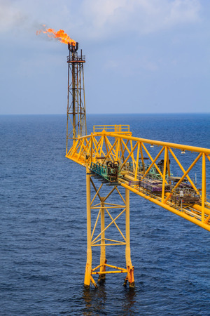 oil platforms: Offshore Industry oil and gas production petroleum pipeline.