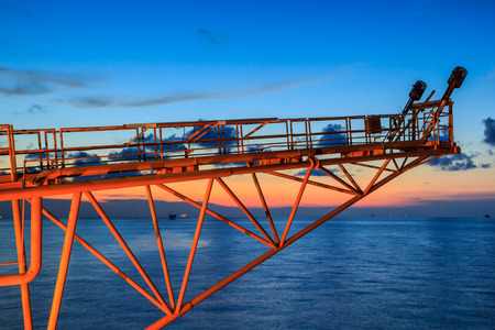 offshore industry: Offshore Industry oil and gas production petroleum pipeline.