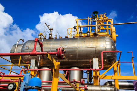 industrial industry: Offshore Industry oil and gas production petroleum pipeline.