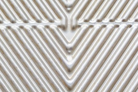 steel plate: Stainless steel plate silver pattern background Stock Photo