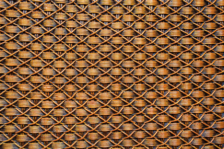 rattan: Background rattan crafts patterns Stock Photo