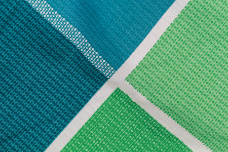 elegant green and Blue cotton fabric texture background