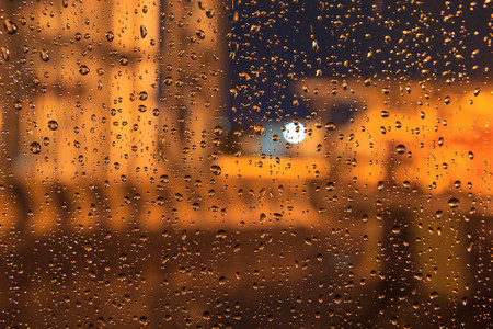 Vintage Rain drop background