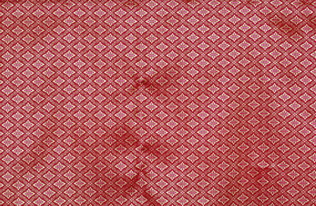 red patterned fabrics style Thailand
