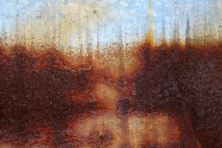 rust red: Patr�n de rayas de �xido de zinc