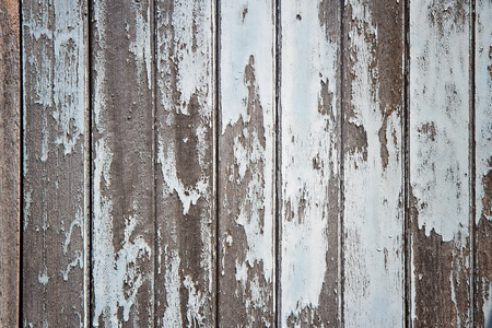 rotting: A rotting wooden door with peeling paint Stock Photo