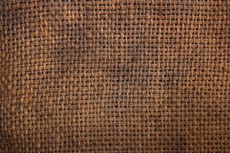 Background of Natural burlap hessian sacking Stock Photo