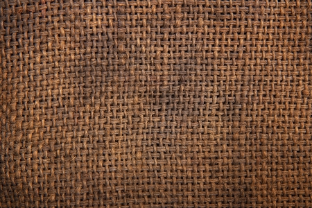 coarse: Background of Natural burlap hessian sacking Stock Photo