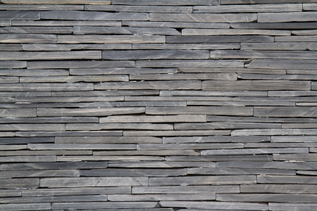 dry stone: Textured rock wall