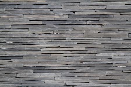 Textured rock wall