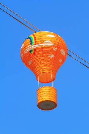 Lantern Festival in hua hin, Thailand photo
