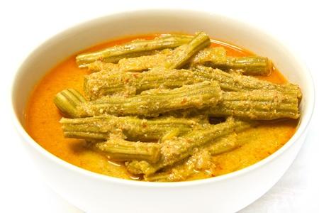 moringa: Moringa curry with coconut milk, Thaifood