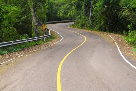 road to change: Winding road