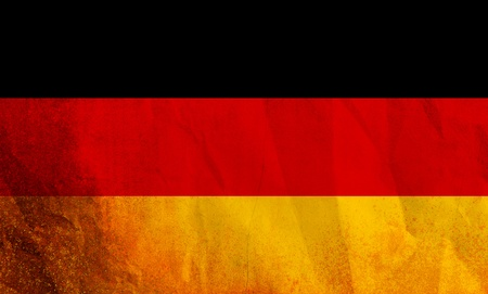 Germany flag isolated  photo
