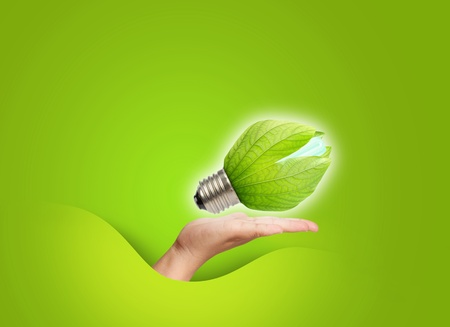 concept of saving energy Stock Photo - 12160937