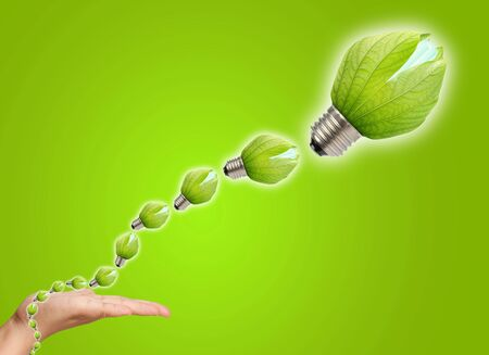concept of saving energy Stock Photo - 12160867