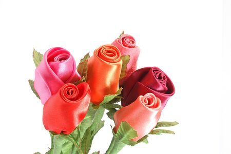 Fabric Roses  photo