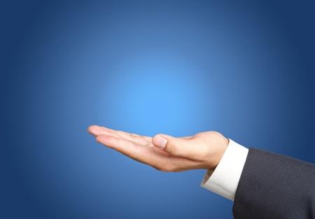 computer software:  Business hand