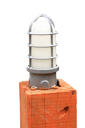 stay at the course: Garden Lamp