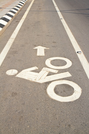 bike lane photo
