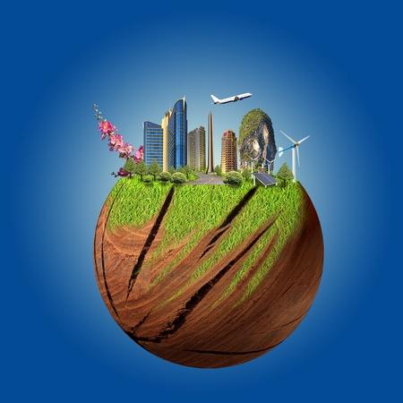 green earth concept Stock Photo - 12668508