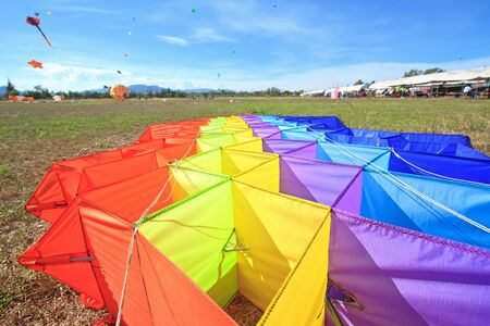 Kite on the ground Stock Photo - 12679019