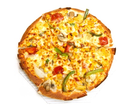 Pizza vegetarian photo