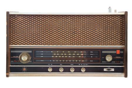 Old radio  photo