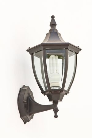 Vintage street lamp photo