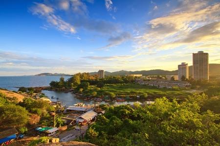 Fishing villages, Huahin Thailand photo