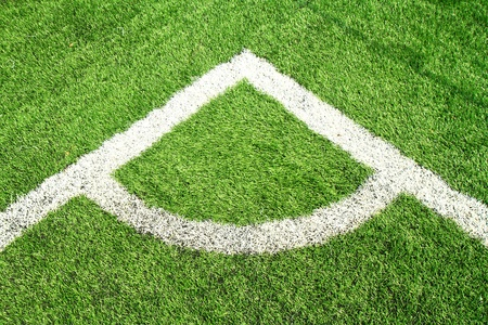 A corner of the football field  photo