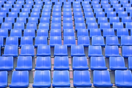 Blue stadium Stock Photo - 13231701