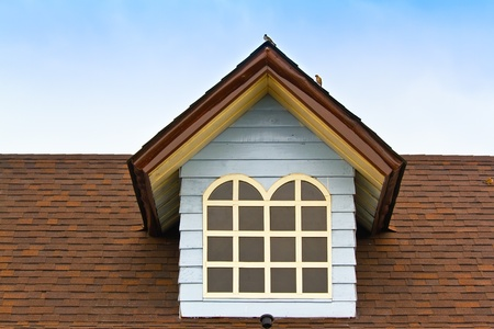 Roof on blue sky Stock Photo - 13231561