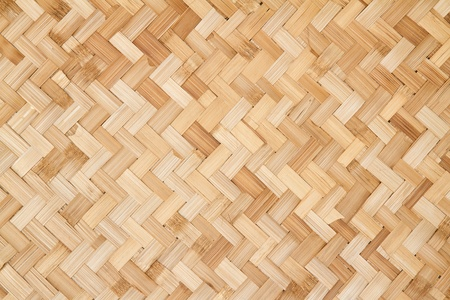 woven rattan with natural patterns Archivio Fotografico