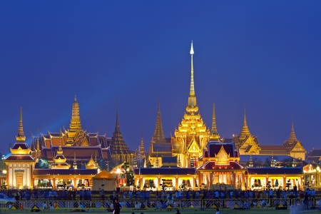 Phra Meru, Thai Royal Crematorium, Bangkok, Thailand photo
