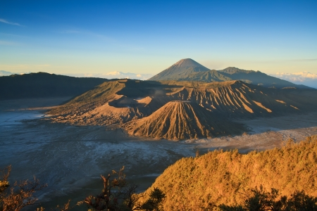 Volcanoes of Bromo National Park, Java, Indonesia Stock Photo - 14415293