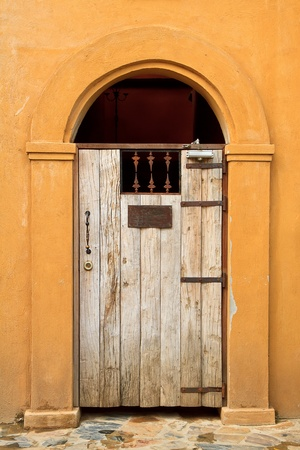 Tuscany old elegant obsolete vintage doors Stock Photo - 14415595