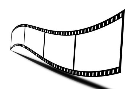 videofilm: Film im Hintergrund Lizenzfreie Bilder