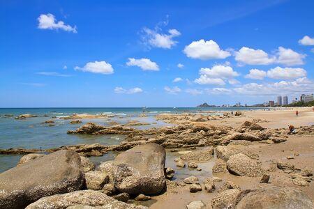 Hua Hin beach,Thailand Stock Photo - 15354636