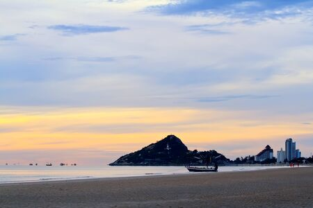 hin: Hua Hin beach,Thailand