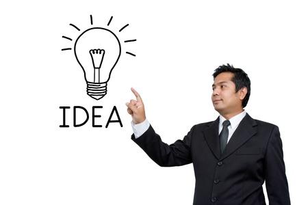 Business Idea concept photo