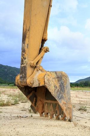 road scraper: Truck backhoe