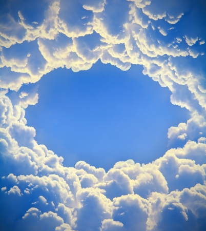 beautiful sky and clouds photo