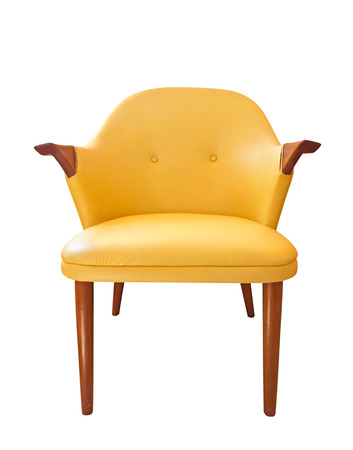Isolated view of an antique chair Stock Photo - 22940424