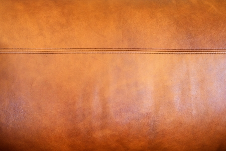 chamois leather: Texture brown leather Stock Photo