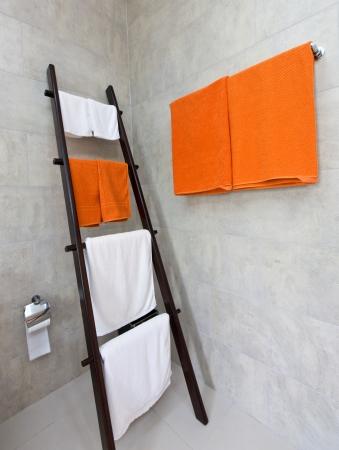 Bathroom towel rail photo