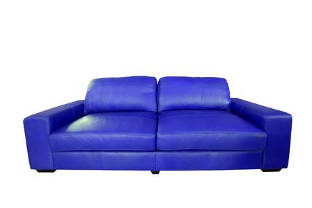 luxury leather sofa  photo