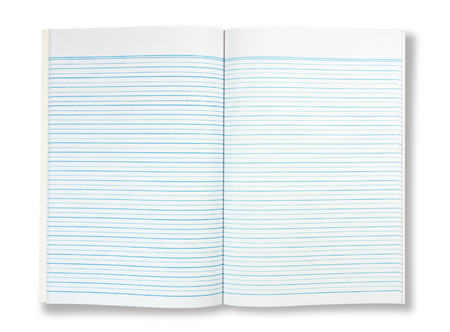 notebook paper background Stock Photo - 23111288